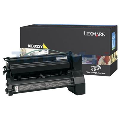 LEXMARK C750 PRINT CART YELLOW 15K